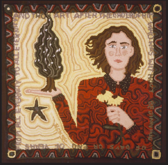 From Patriarcal Blessing Prayer Rug Series, 1996
