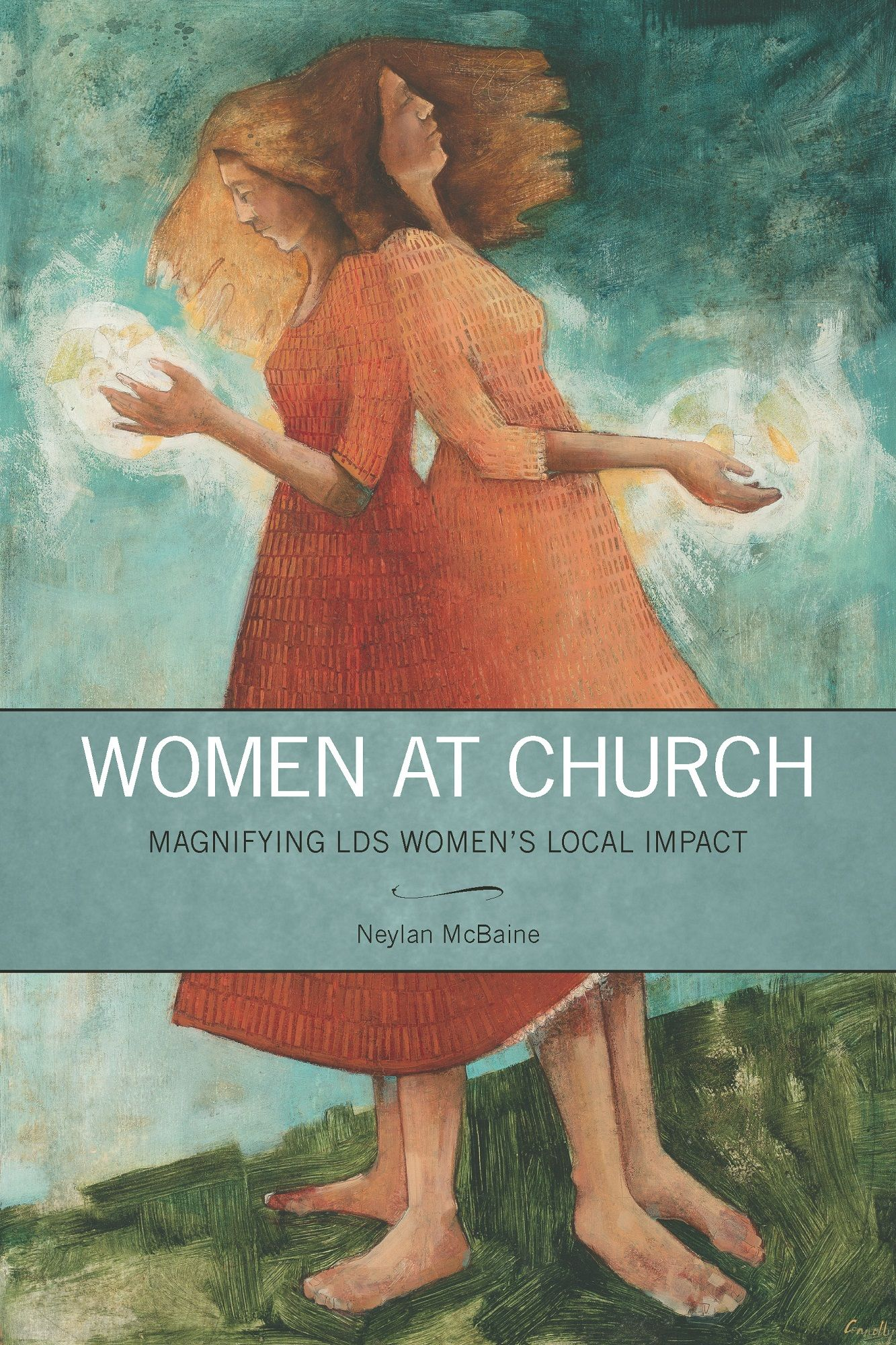 Women at Church Book