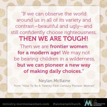 Neylan McBaine Quote
