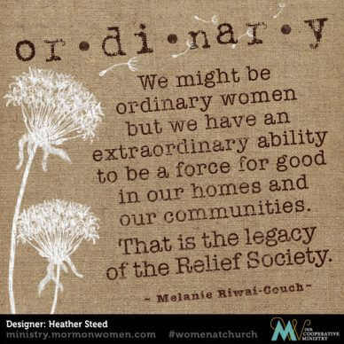 Melanie Riwai-Couch: The Legacy Of The Relief Society