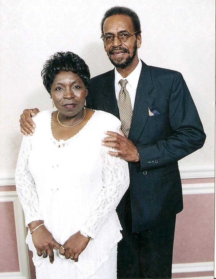 Willie with her husband, Rowan.