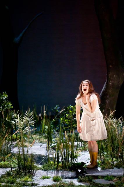 As Sandrina in La Finta Giardiniera (Mozart) at Opéra de Lille, 2014. Credit: Frédéric Iovino