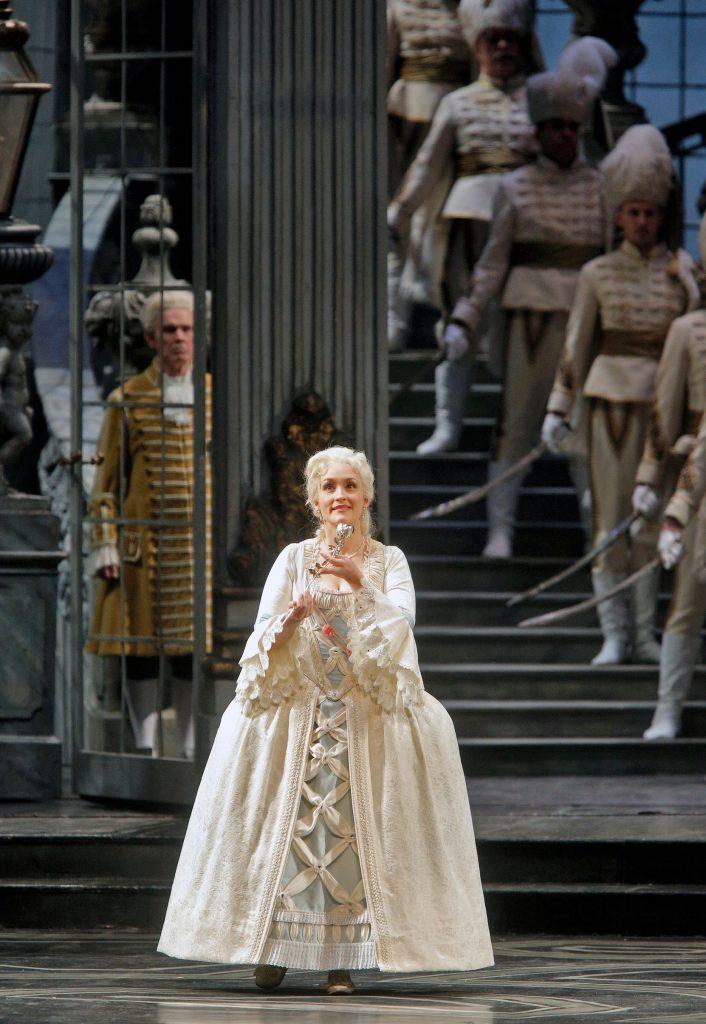 As Sophie in Der Rosenkavalier (Strauss) at the Metropolitan Opera, 2013. Credit: Cory Weaver.