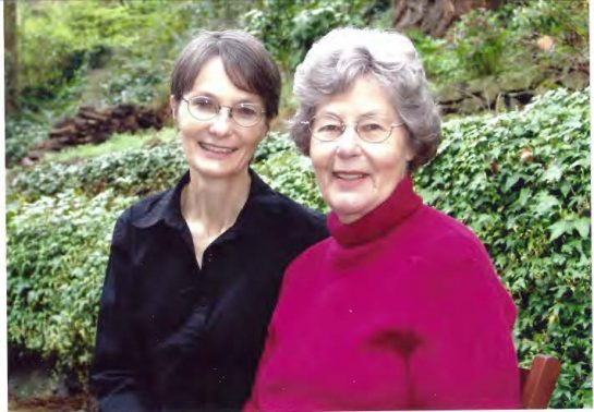 Christie and her mother