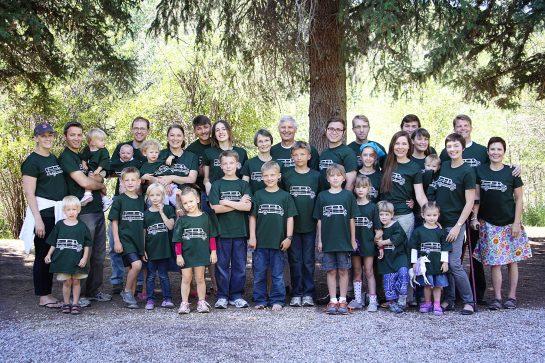 The Frandsen family