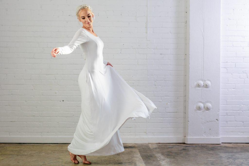 Q.Noor LDS Temple Dress qnoor.com-9083