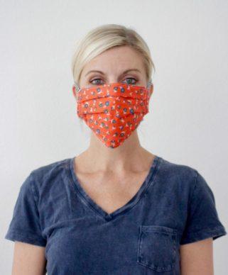 Dana Willard with COVID mask